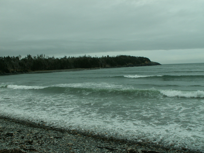 Windy, with showers Yarmouth 33, Nova Scotia Canada