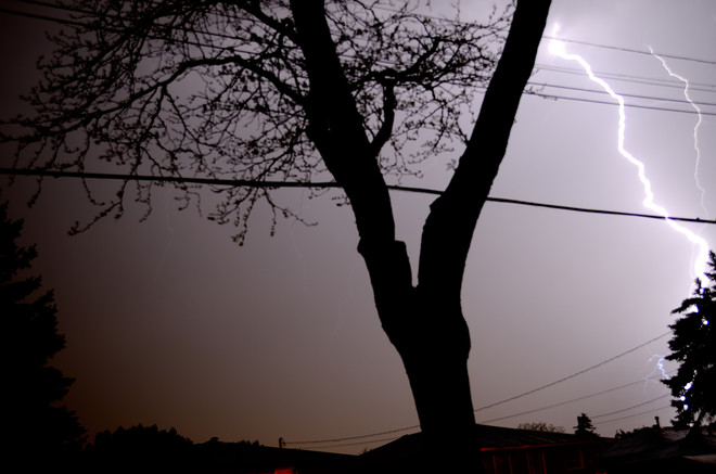 Lightning May 20th Hamilton, Ontario Canada