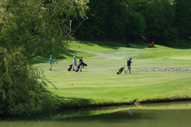 Over looking #2 hole @ St. Davids Niagara On The Lake, Ontario Canada