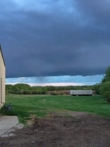 Storm Blowing In Lac La Biche, Alberta Canada