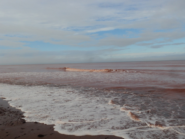 water picture O'Leary, Prince Edward Island Canada