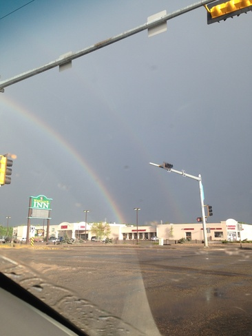 Double Rainbows Westlock, Alberta Canada