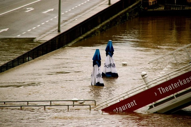 Flooding in Dresden Dresden, Sachsen Germany