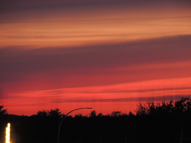 Sunset On Blockhouse Hill June 10th 2013 Mahone Bay, Nova Scotia Canada