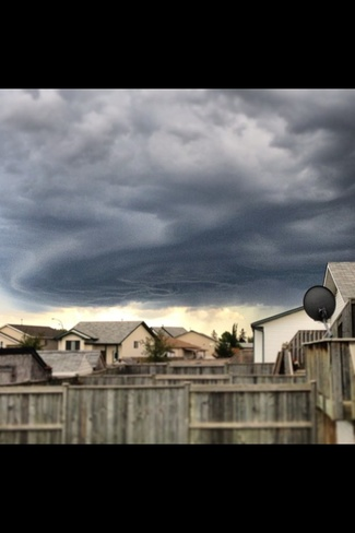 Crazy Clouds in Red Deer Red Deer, Alberta Canada