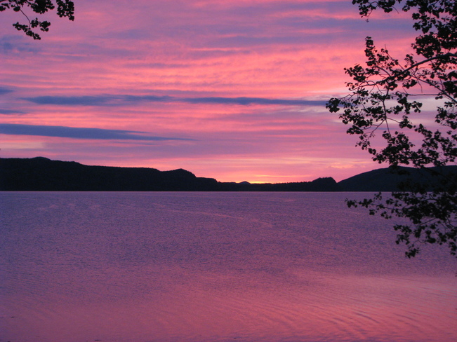 Beautiful Morning Sky Glovertown, Newfoundland and Labrador Canada