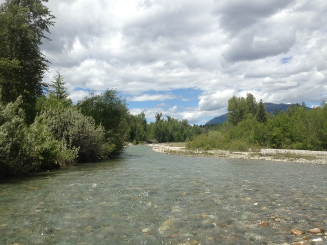 wildhorse creek Cranbrook, British Columbia Canada