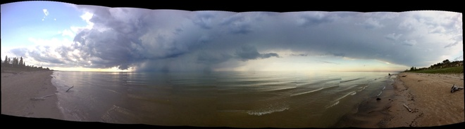 Pinery Thunderstorm Grand Bend, Ontario Canada