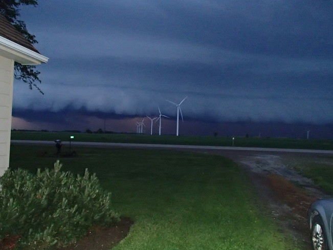 Scary Storm Clouds Wheatley, Ontario Canada