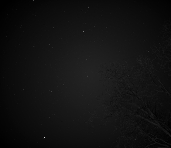 Ursa Major(Big Dipper) Winnipeg, Manitoba Canada