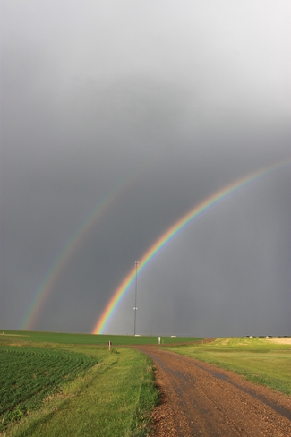 Double Rainbow 2 Swift Current, Saskatchewan Canada