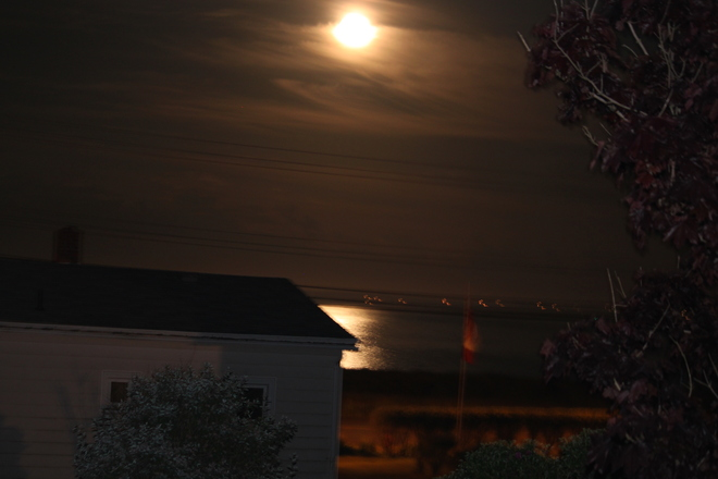 Moonlight Eastern Passage, Nova Scotia Canada