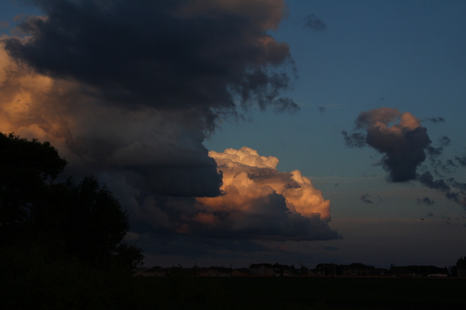 Clouds over Dalmeny Dalmeny, Saskatchewan Canada