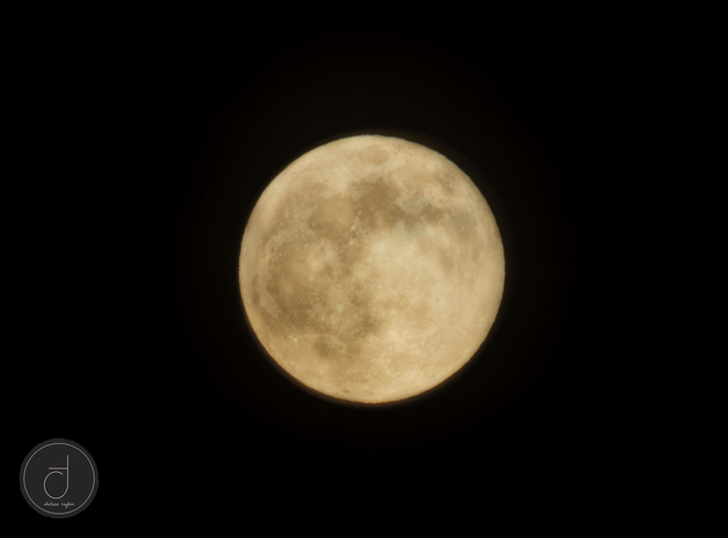 Beautiful Supermoon 2013 Sudbury, Ontario Canada