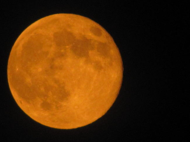 Our Supermoon Lachine, Quebec Canada