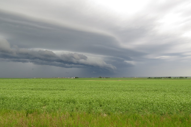 another storm rolls in Bow Island, Alberta Canada