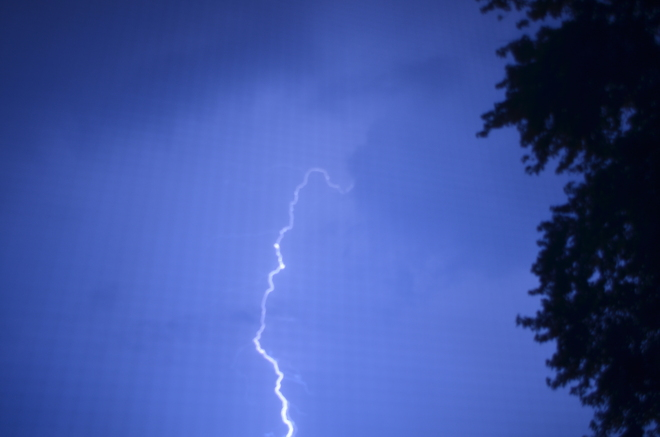Lightning Burlington, Ontario Canada
