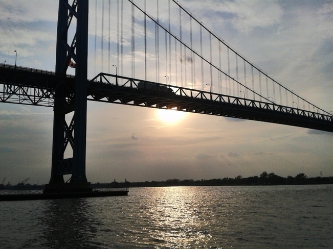 Ambassador Bridge Windsor, Ontario Canada
