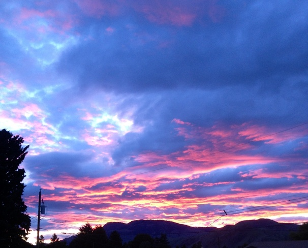 good ol kamloops sunset Kamloops, British Columbia Canada