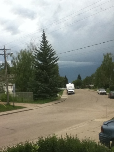 bad weather Red Deer, Alberta Canada