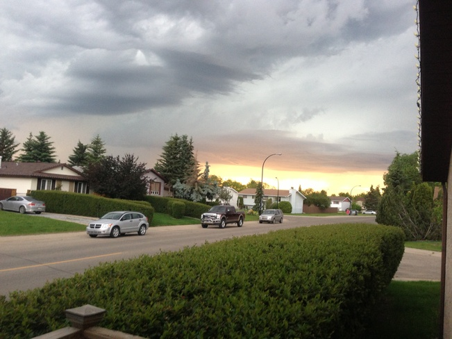 calm before the storm Red Deer, Alberta Canada