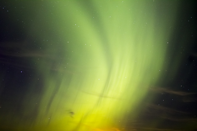 Northern Lights @ 7.33 Kp Regina, Saskatchewan Canada