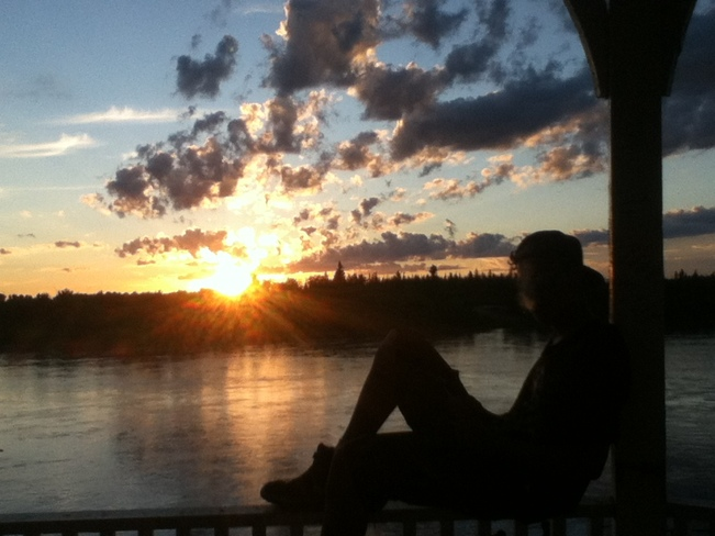 ME MYSELF&I ENJOYING THE WEATHER Prince Albert, Saskatchewan Canada