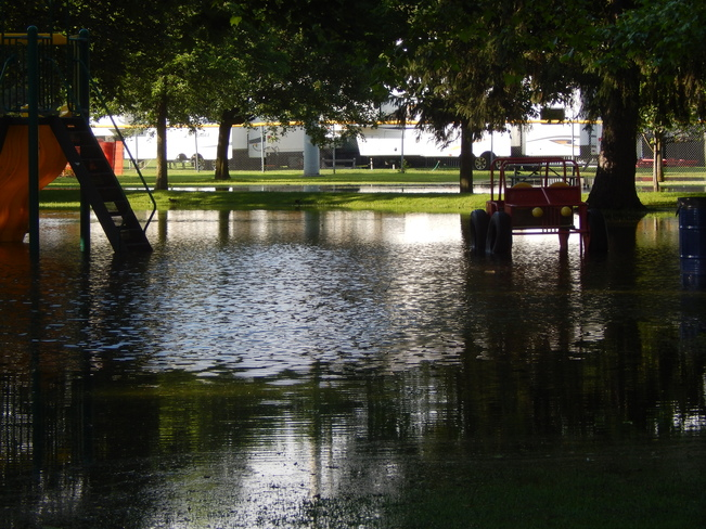 Flood at Riverside Park