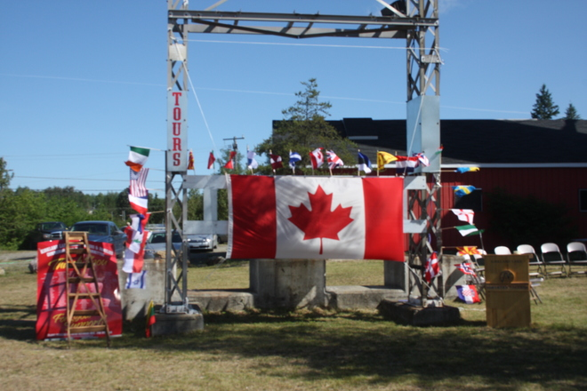 MINERS & FAMALIES COMMEMORATIVE DAY VIEWS Kirkland Lake, Ontario Canada