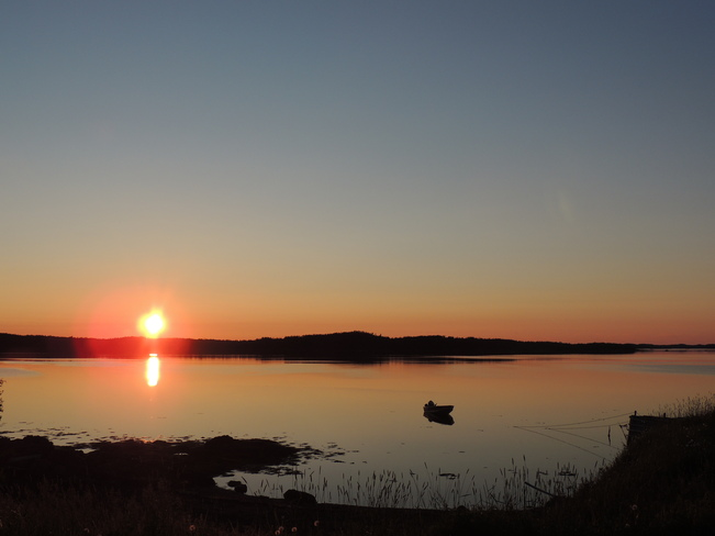 Sunset 's Beauty Boyd's Cove, Newfoundland and Labrador Canada