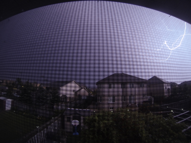 Finally Caught Lightning on my GoPro Hero3 St. Catharines, Ontario Canada