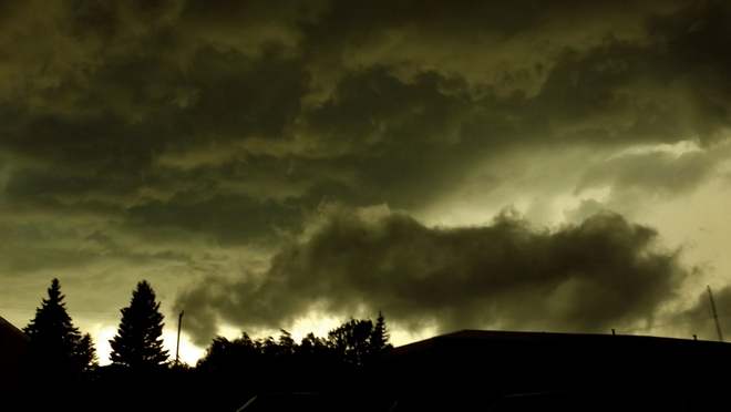 Not A Shelf Cloud Yorkton, Saskatchewan Canada