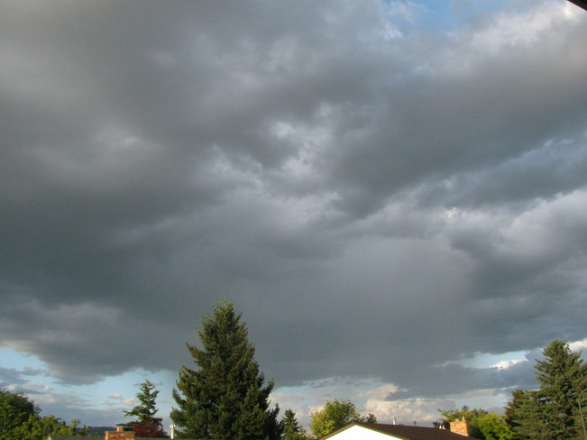 Storm clouds Kamloops 1, British Columbia Canada