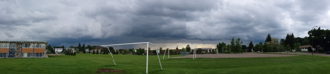 Storm Clouds in Swift Current Swift Current, Saskatchewan Canada