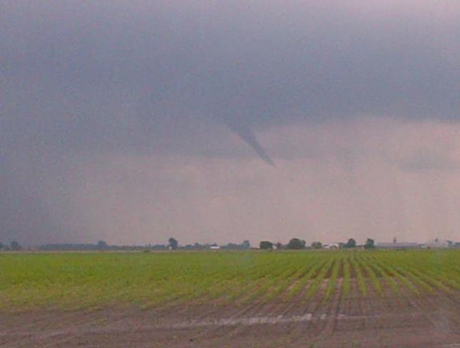 Funnel Cloud Wallaceburg, Ontario Canada