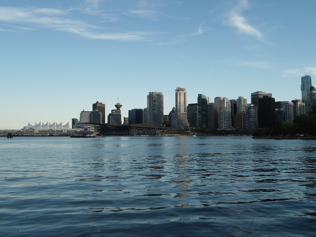 Beautiful Vancouver Evening Vancouver, British Columbia Canada