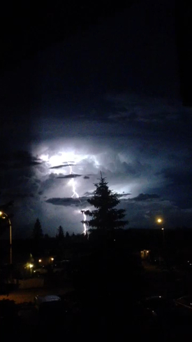 Lighting Fort McMurray, Alberta Canada