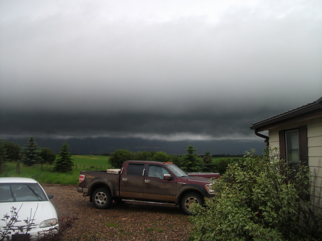 Wicked Storm Clouds Neilburg, Saskatchewan Canada