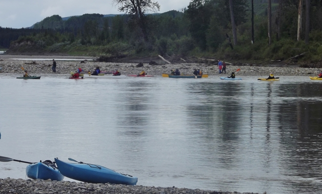 Paddle for the Peace Hudson's Hope, British Columbia Canada