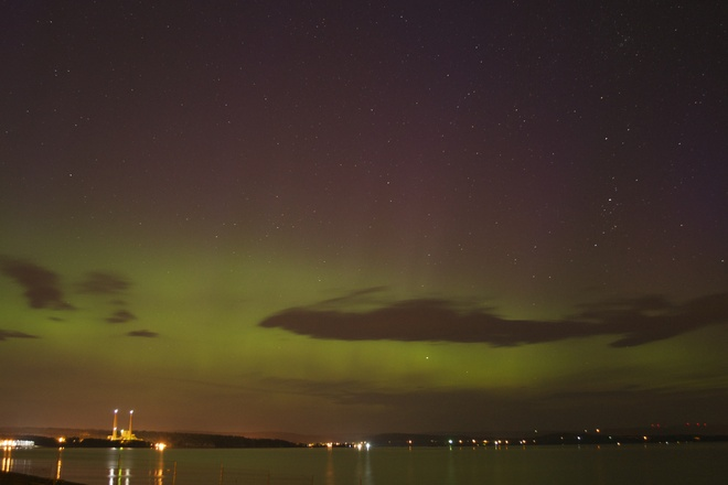 July 15th Aurora Dalhousie, New Brunswick Canada
