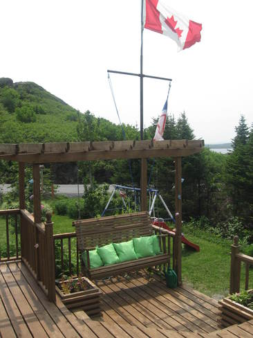 Swing on my patio St. Lunaire-Griquet, Newfoundland and Labrador Canada