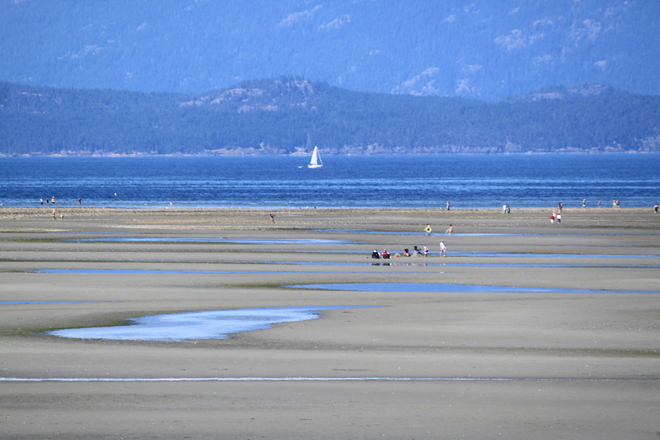 Great Beach Parksville, British Columbia Canada