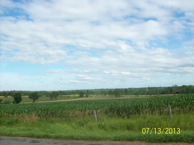 The Mighty Clouds of Joy over the pasteral Scenery in quinte West Quinte West, Ontario Canada