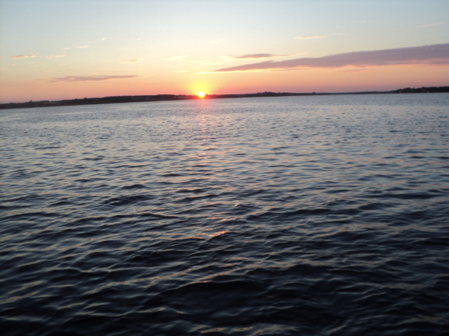 Sunset In Charlottetown Harbour Charlottetown, Prince Edward Island Canada