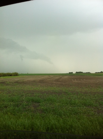 Funnel Cloud Wilcox, Saskatchewan Canada