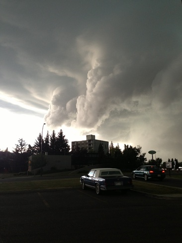 funnel clouds Lethbridge, Alberta Canada