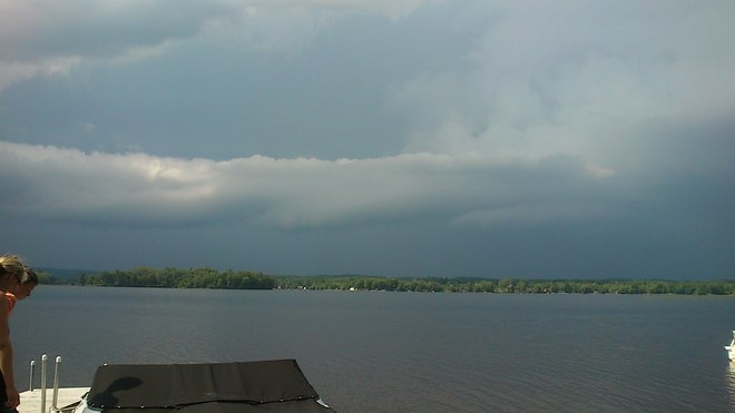 Storm #2 approaching Golden Lake, Ontario Canada