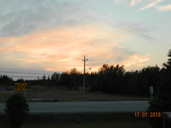 sunset Boyd's Cove, Newfoundland and Labrador Canada
