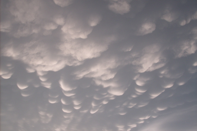 Mammatus Clouds Scarborough, Ontario Canada