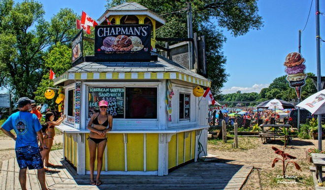 I Scream, You Scream, We All Scream For Ice Cream Port Dover, Ontario Canada